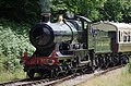 "Parkend railway station MMB 07 3717 ""City of Truro"".jpg"