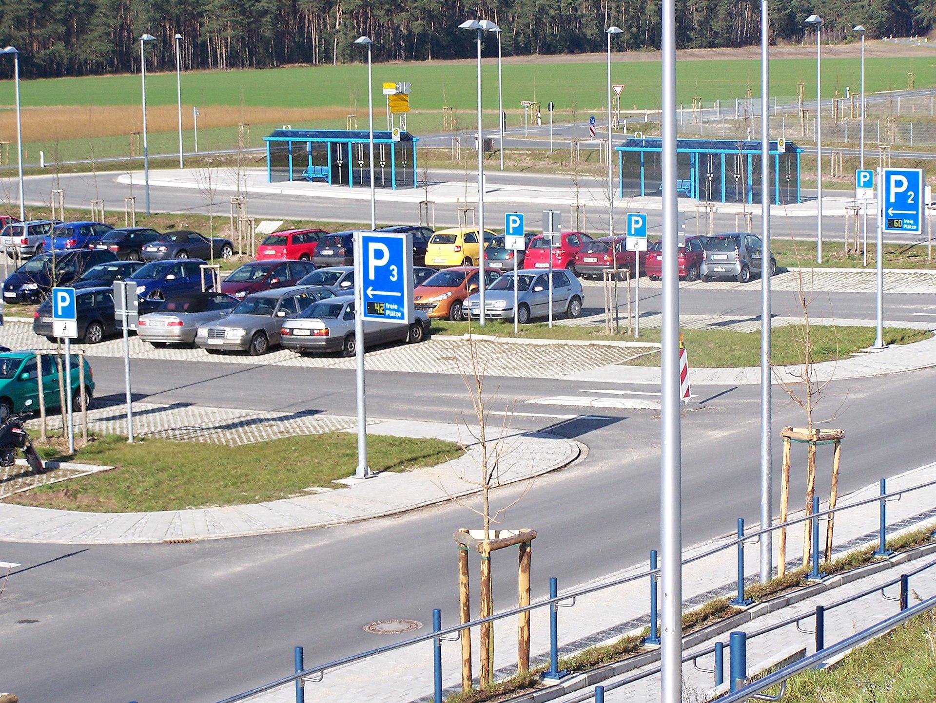 Größe Eines Parkplatzes