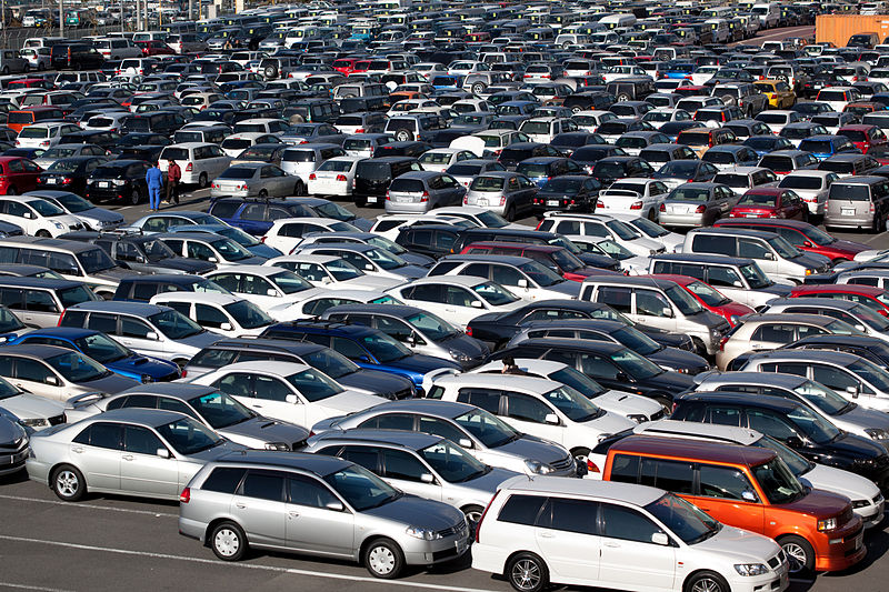 Used Car Lot REady for Exporting