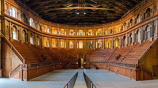 baroque theatre in Parma, Italy