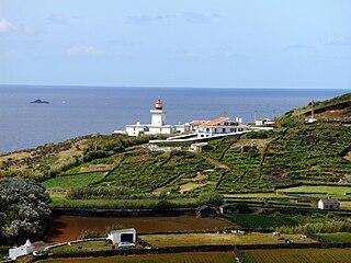 Lighthouse of Ponta das Contendas lighthouse in Portugal