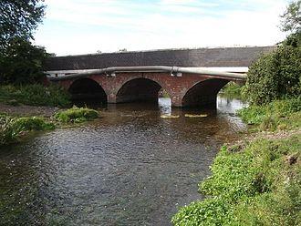 River Blythe - The river near Hampton-in-Arden