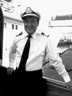 Patrick Macnee 1975.
