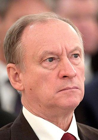 Nikolai Patrushev - Image: Patrushev NP