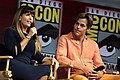 Patty Jenkins & Chris Pine at the 2018 Comic-Con International.jpg