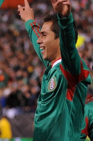 Paul Aguilar - Aguilar with Mexico in 2010.