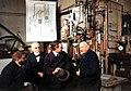 Paul Ehrenfest, Hendrik Lorentz, Niels Bohr, and Heike Onnes in 1919 (left to right).jpg