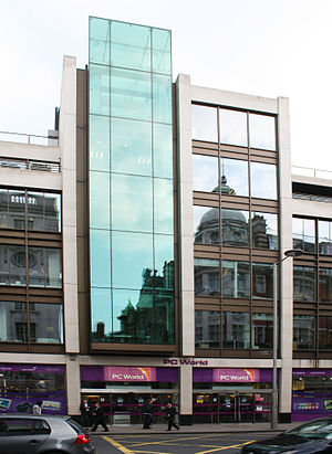 PC World (retailer) - PC World, Kensington High Street, London, (2010)