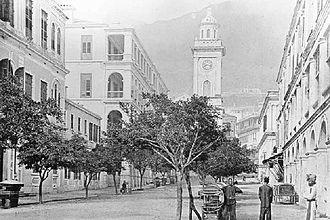 Pedder Street - Image: Pedder Street 1870s