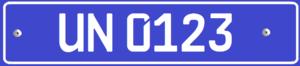 Специальные серии автомобильных номеров в Узбекистане - 4