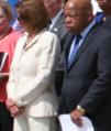 Pelosi and John Lewis GunViolence11.png