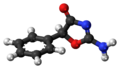 Pemoline molecule ball.png