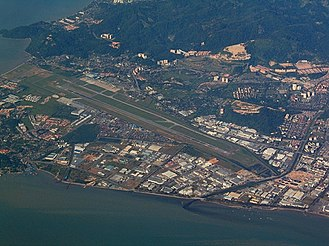 Penang International Airport - Image: Penang Airport MRD