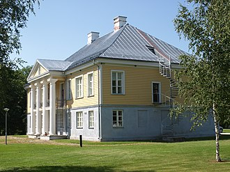 Matsalu National Park - Penijõe manor, regional office of State Nature Conservation Centre and the centre of Matsalu National Park