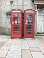 Penzance - K6 telephone kiosks in Market Jew Street.jpg