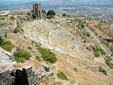 Το αρχαίο θέατρο της Περγάμου, 3ος αι. π.Χ.