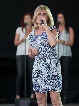 Pernilla Wahlgren - Wahlgren performing at Stockholm Pride in 2014