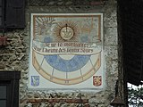 Perouges sundial 1274.JPG