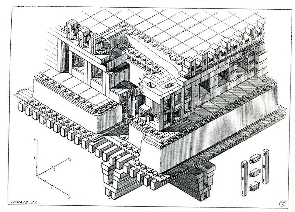 Persepolis Rec iso Toit P100C Chipiez