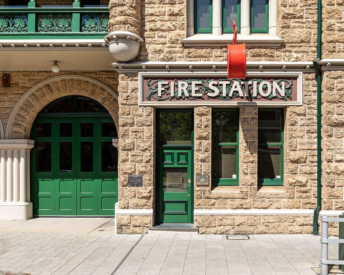 File:Perth (AU), Perth Central Fire Station -- 2019 ...