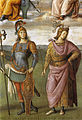 Perugino, Fortitude and Temperance with Six Antique Heroes 01.jpg