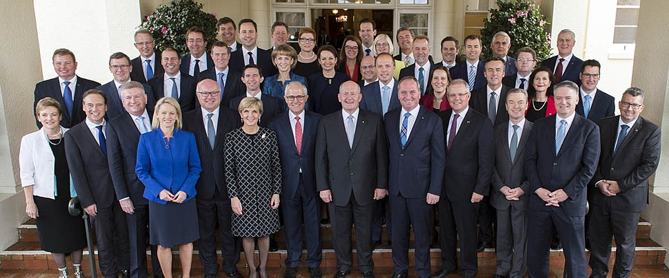 Peter Cosgrove with Second Turnbull Ministry 2016
