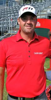 Peter Hanson Swedish professional golfer