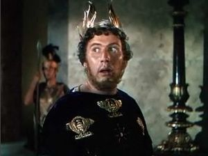 Peter Ustinov - Ustinov as Nero in Quo Vadis (1951)
