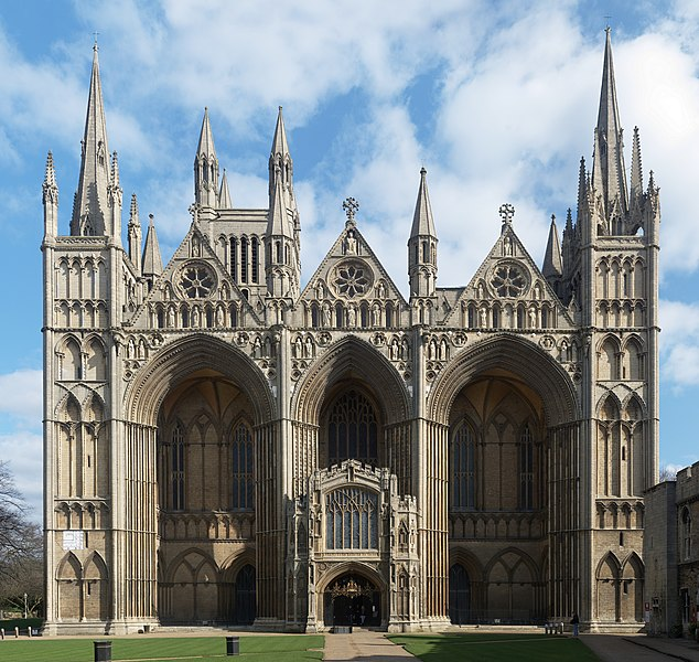 Burial records from Peterborough Cathedral added