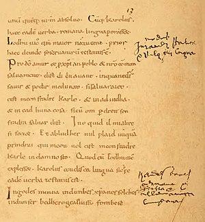Petit de Julleville - Histoire de la langue et de la littérature française, t. 1, 1896, page 112.jpg