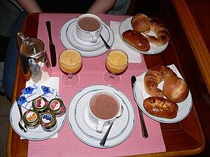 History of breakfast - A continental breakfast