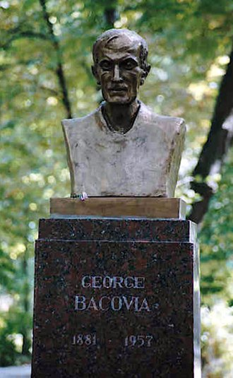 George Bacovia - Bust of George Bacovia