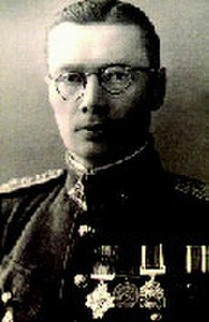 Petras Ciunis - Petras Ciunis in 1939