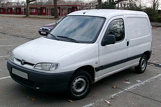 Karsan - Peugeot Partner manufactured since 1997, restyled in 2003 and 2008