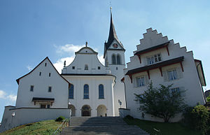 Hochdorf, Lucerne - Image: Pfarrkirche St. Martin Hochdorf LU