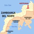 Ph locator zamboanga del norte katipunan.png