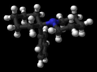 Phencyclidine - Image: Phencyclidine from xtal 3D balls