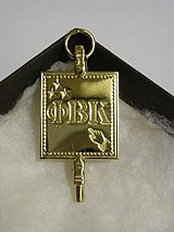 The Phi Beta Kappa Key