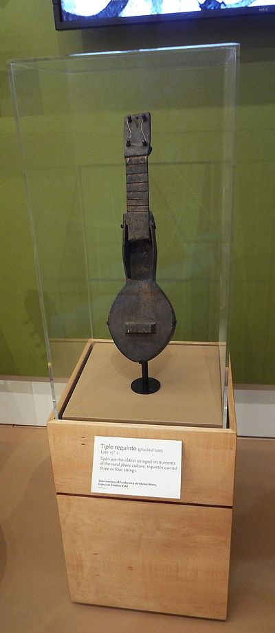 A Tiple Requinto (1880) from Puerto Rico Phoenix-Musical Instrument Museum-Puerto Rico Exhibit-Tiple Requinto--1800s.jpg