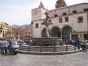 Carini - Image: Piazza Duomo