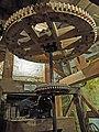 Pickwick Mill interior 06–line shaft gears.jpg