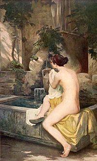 Pierre Bodard A la fontaine.jpg