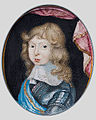 Pierre Signac - Miniature portrait of Charles XI, King of Sweden 1660-1697, as a child - Google Art Project.jpg