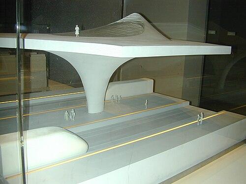 Pilastro cavo per Stuttgart (Venezia 2004)