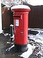Pillar Box, outside Tesco Store, 199 Old Birmingham Road, Marlbrook - geograph.org.uk - 1110559.jpg