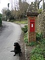 Pillar Box in Kingston Ridge near Lewes - geograph.org.uk - 1141723.jpg