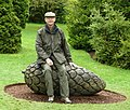 Pine-cone sculpture, Threave Gardens, Castle Douglas - geograph.org.uk - 1564854.jpg
