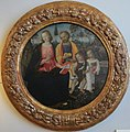 Pinturicchio, sacra famiglia con san giovannino.JPG