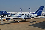Piper PA46-350P Malibu Mirage 'ZS-NDR' (16762857659).jpg