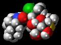 Pirlimycin molecule spacefill.png
